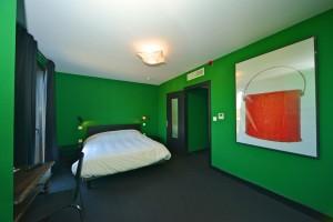 Hôtel Vierzon - Chambre verte