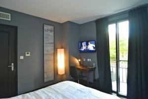 Hôtel Vierzon - Chambre grise